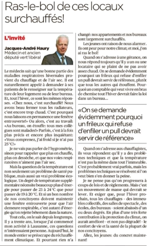 Article 24 Heures - 10.04.19